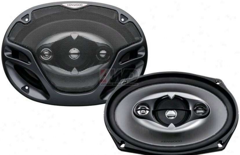 6x9? 4-way Speaker By Kenwood