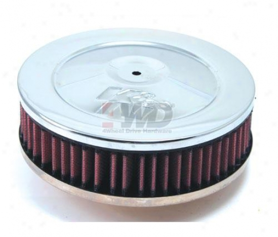 "7"" Air Filter Assembly, Chrome By K&n®"