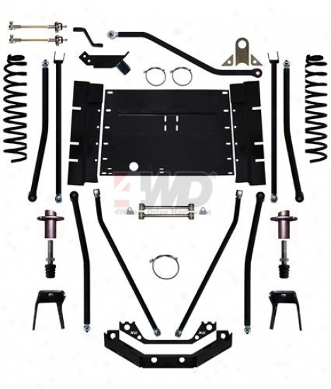 "7"" X-factor Plus Long Arm Stretch Suspension System By Rock Krawler"