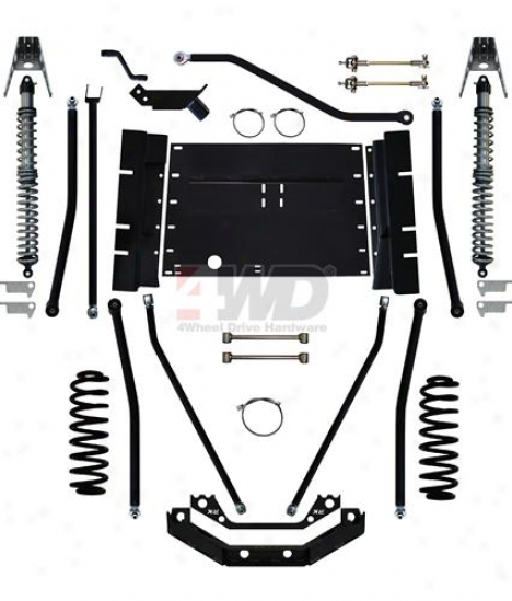 """8"""" X-factor Plus Comp Long Arm Suspension System By Rock Krqwler"""