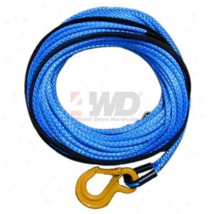 Amsteel Blue Synthetic Winch Line With Crush Proof Thimble Eye & Excel Hook