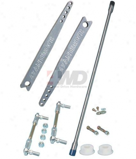 Antirock Front Aluminum Sway Bar System By Currie Enterprises