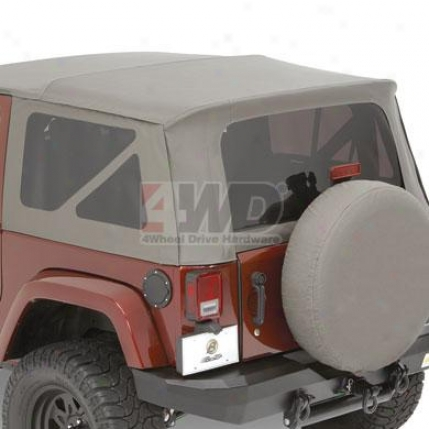 Bestop Replace-a-top? Tinted Window Kit, Black Diamond, Jk Undefined, 2007 4 Door Model