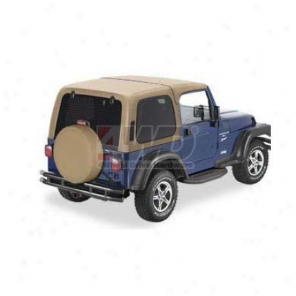 Bestop Two-piece Hardtop Without Doors, Tan