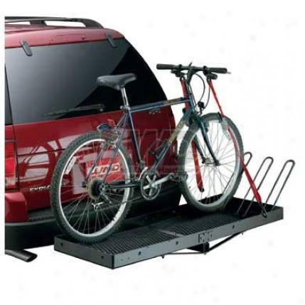 Bike Carrier Hoops For Luhd Hitch Mountted Cargo Carrier By Lund