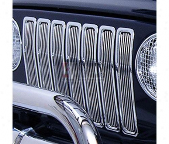 Billet Grille Inserts By Rugged Ridge
