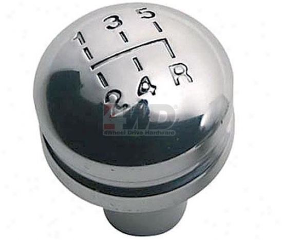 Billet Shift Knob With Shift Pattern By Rugged Ridge