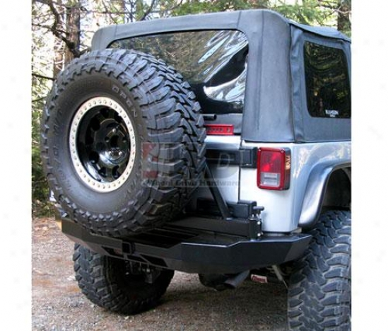 Bumper And Tire Carrier By Hanson Offroad