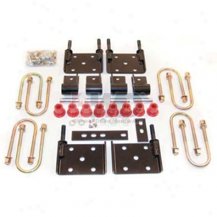 Cj Elasticity Conversion Kit For Use With Yj Springs By 4wheel Drive Hardware