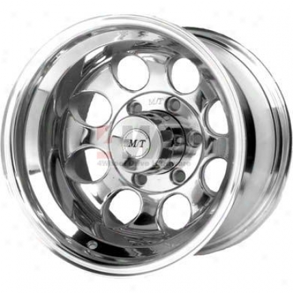 Classic Ii Cast Polished Alloy Wheel By Mickey Thompson