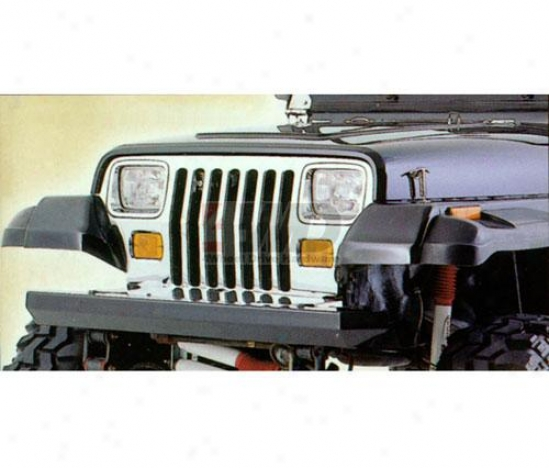 Classic Rock Crawler Front Bumper By Rugged Ridge
