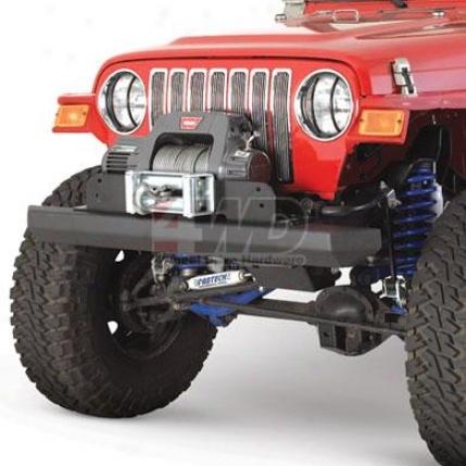 Classic Rock Crawler Front Bumper By Smittybilt