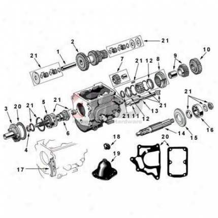 Comp1ete T90 Transmission With Shifter
