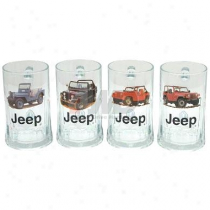 Crown Officially Licensed Jeep® Glassware
