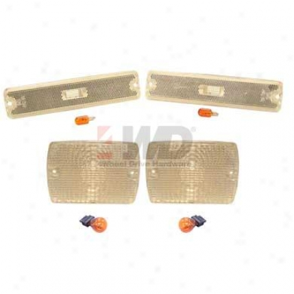 Crystal Clear Parking Lamp And Sidemarker Lamp Kit By Coronet