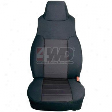 Custom Fit Neoprene Front Seat Covers By Rugged Ridge