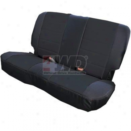 Custom Fit Neoprene Rear Seat Cover By Rugged Ridge