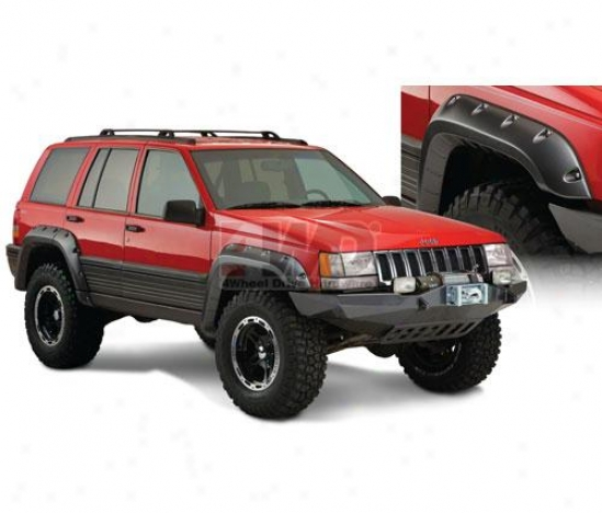 Cut-out Fender Flares By Bushwacker