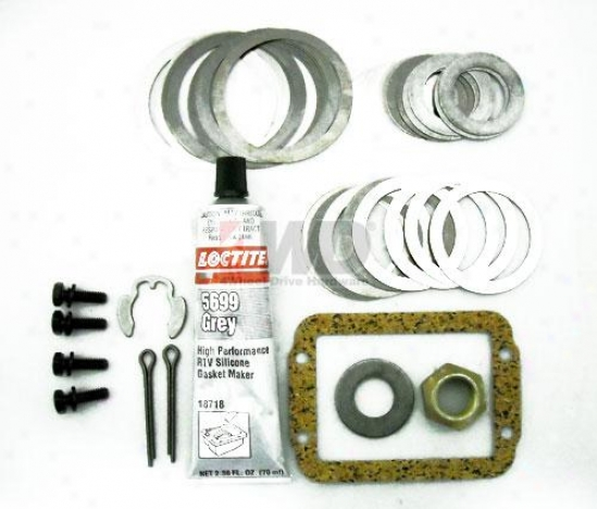 Dana 30 Pinion And Differential Bearing Shim Kit