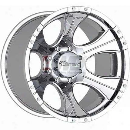Dc-1 Polished Aluminum Alloy 6-spoke Wheel By Dick Cepek