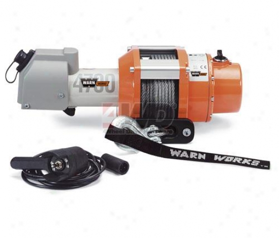 Dc Electric Winch;