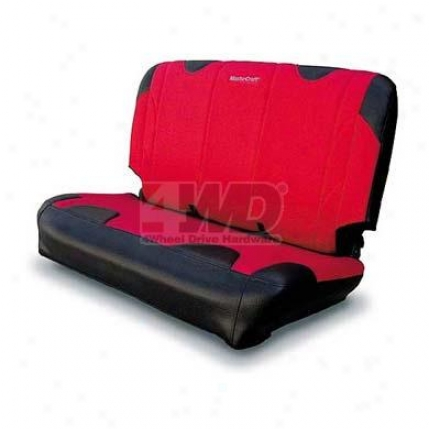 Dirsport Rear Seat Slip Cover By Mastercraft
