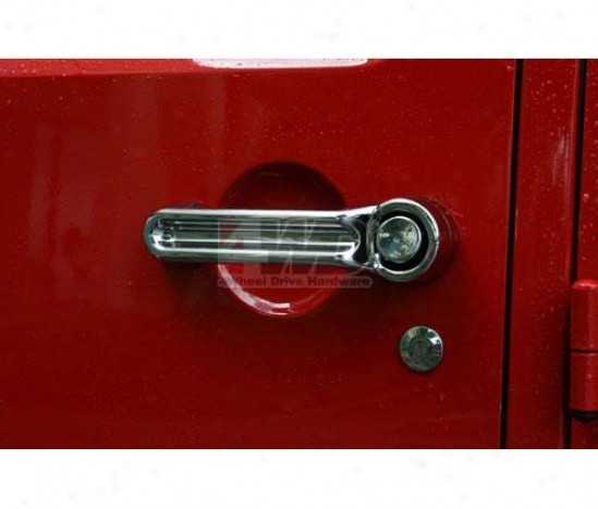 Door Handle Cover Kit By Rugged Ridge