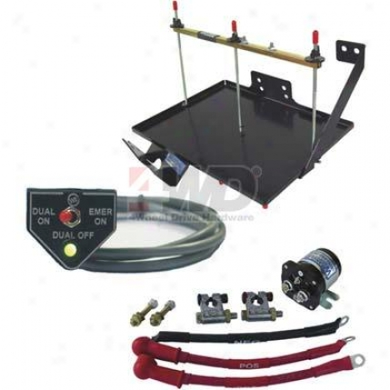 Dual Battery Tray Kit By Wrangler Nw Power Procucts