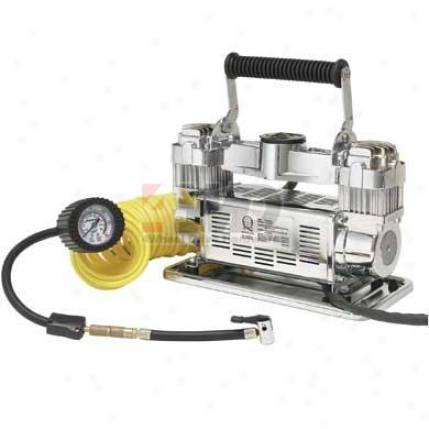 ?dually? Twin Cylinder Portable Air Compressor By Smittybilt