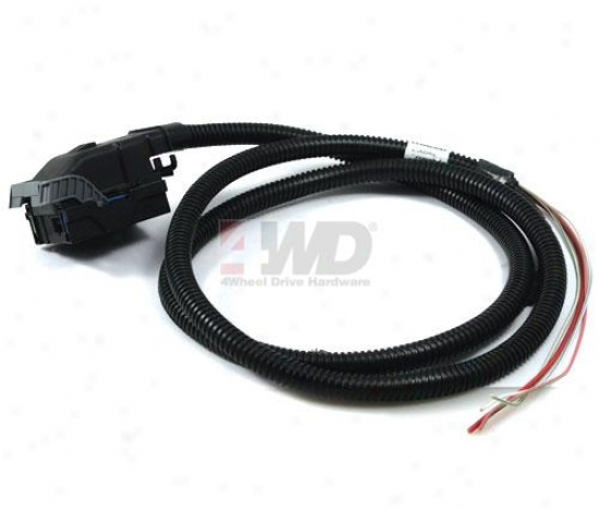 Electronic Swaybar Disconnect Oem Wiring Harness By Mopar