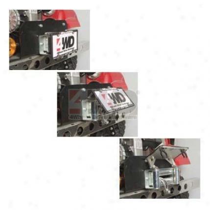 Ez-flip? License lPate Bracket By Tough Stuff Products®