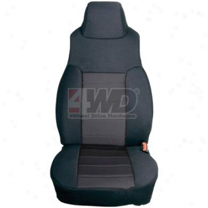 Fabric Front Seat Covers Byy Rugged Ridge