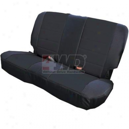 Fabric Rear Seat Cover By Rugged Ridge