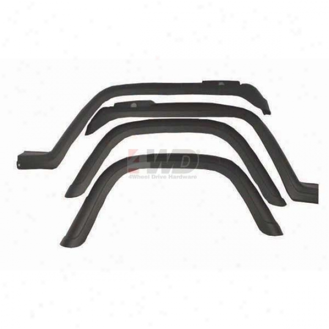 Factory-style Replacemenf Fender Flare Set By Omix-ada