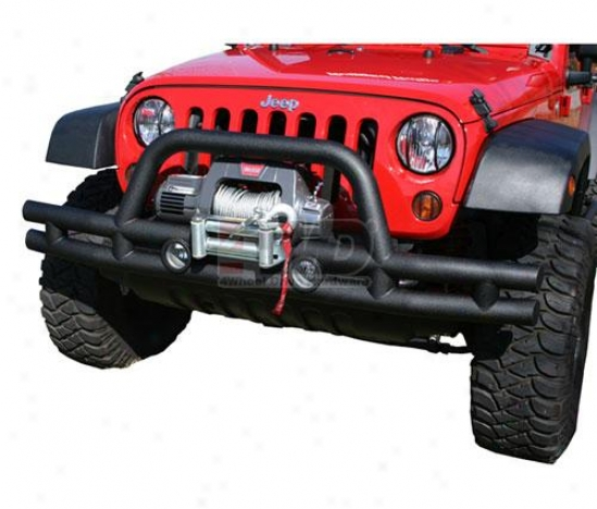 Front 3? Winch Tube Bumper By Rjgged Extended elevation
