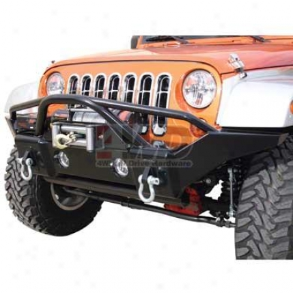 Front Recovery Bumper With Stinger By Rampage