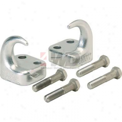 Front Tow Hooks By Rugged Ridge