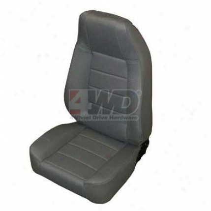 Full Fabric Front R3cliner Seat By Smittybilt