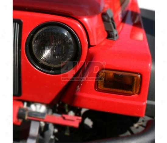 Headlight And Turn Signal Covers By Rugged Ridge