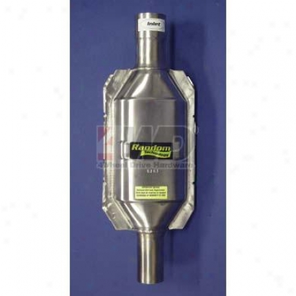 High Flow Catalytic Converter By Random Technology
