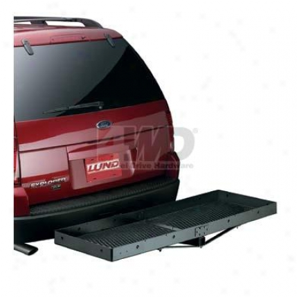 Hitch Mounted Cargo Carrier By Lund