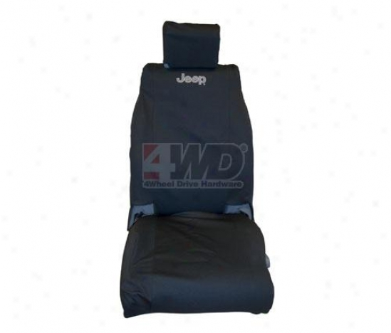 Jeep Logo Forehead Seat Cover By Mopar