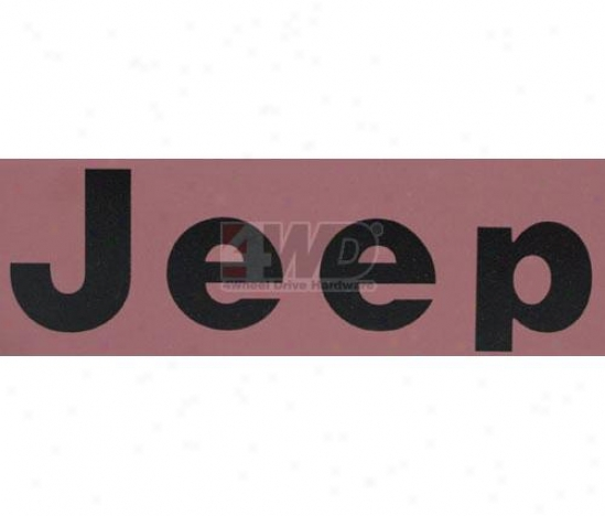 Jeeep® Decal
