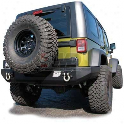 Jk Basic Rear Bumper By Purejeep