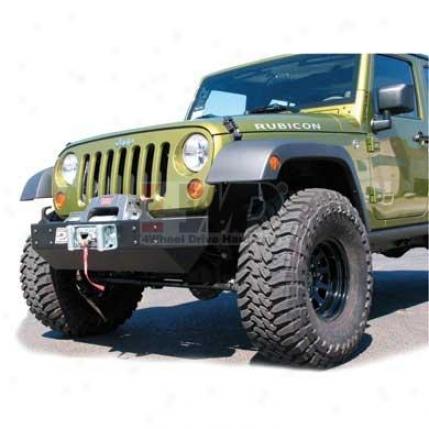 Jk Wrangler Crawler Front Winch Bumper By Purejeep