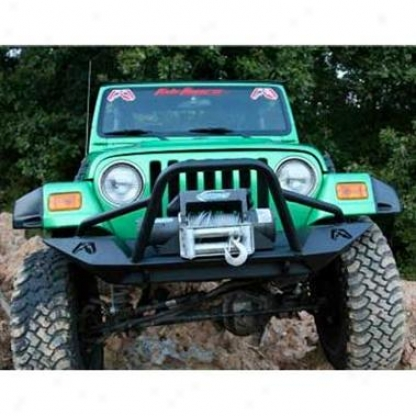 Lifestyle Winch Bumper With Grille Guard By Fab Fours
