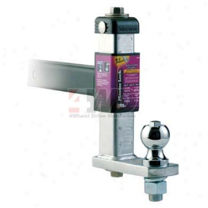 Master Lock Adjustable Height; Zero-tilt Ball Mount