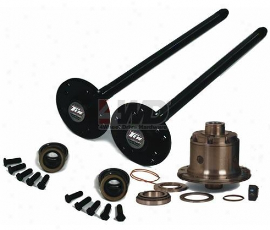 Model 30 Chromoly Front Axle Kit Byy Ten Factory