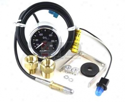 Oil Temperature Gauge By Auto Meter