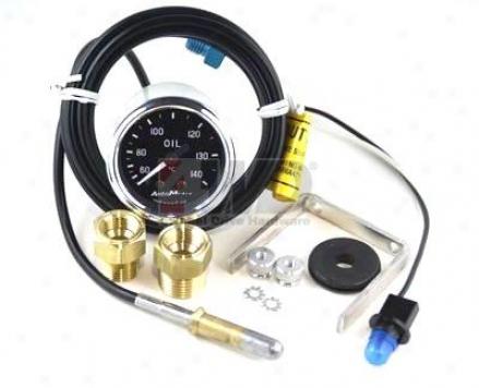Oil Temperature Gauge By Auto Meter